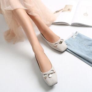 Ballerine-mocassini-scarpe-beige-eleganti-pelle-sintetica-2-5-cm-comode-1389