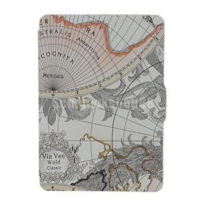 World Map Schutz Hülle Smart Tasche für Amazon Kindle Paperwhite 1/2 ...