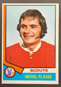 1974-75-O-Pee-Chee-Hockey-257-Michel-Plasse-Kansas-City-Scouts