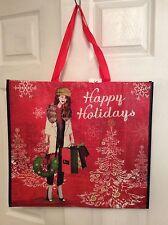TJ MAXX Huge Fashion Shopper Shopping Gift Bag Tote NWT