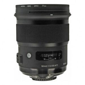 Sigma 50mm 1:1.4 DG HSM Art pour Nikon noir (État Comme neuf)