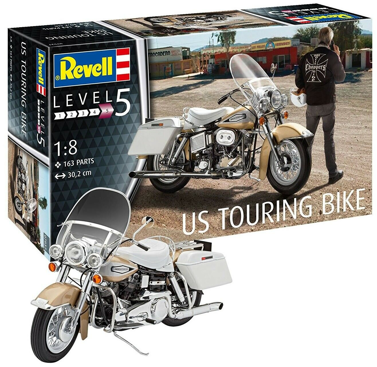 Revell 1 8 US Touring Bike