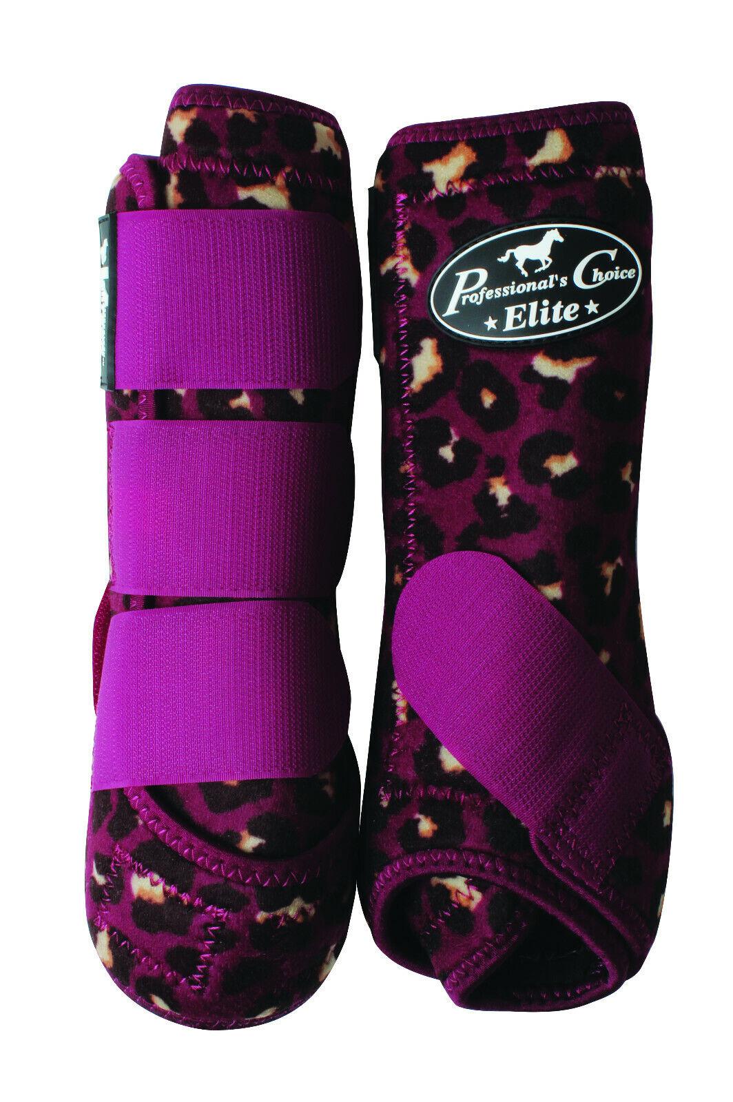 Professionals Choice Sport Medicine Boot Ventech Elite Front Leg Pair  Cheetah  fashion mall