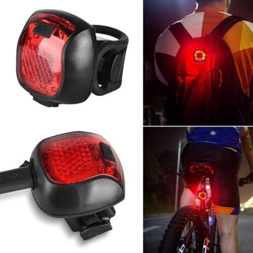 Bike Taillight Waterproof Riding Rear Light Led Usb Headlight Light Tail-lamp US