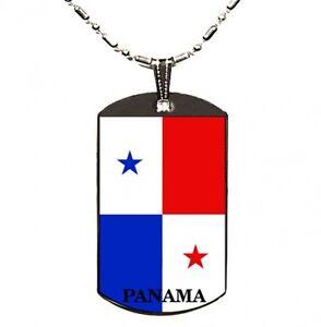 Panama Flag Polymer Glazed Dogtag Dog Tag EBay - Panama flag