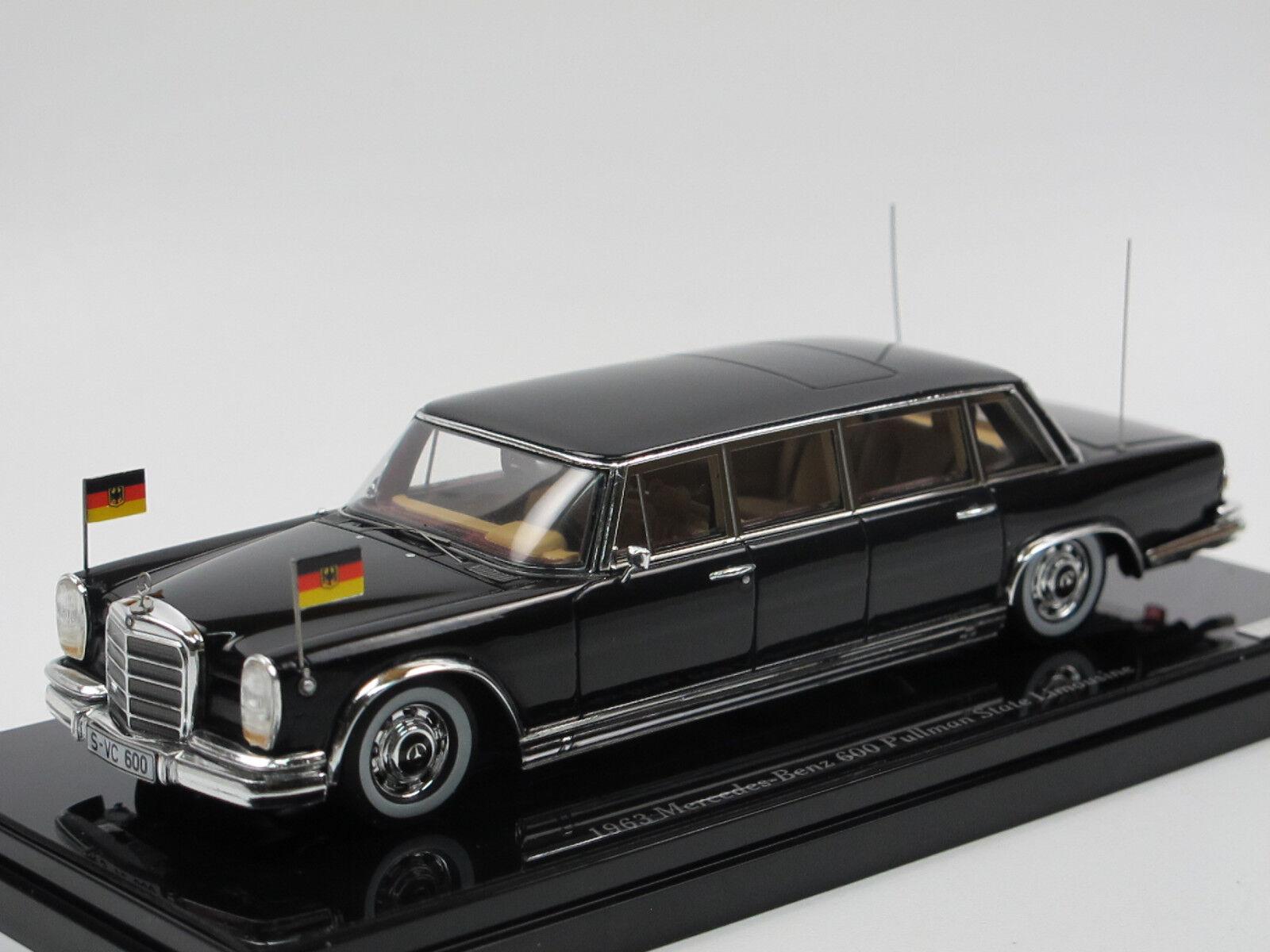 TSM Model 1963 Mercedes-Benz 600 Pullman Staatslimousine BRD 1 43 2. Wahl