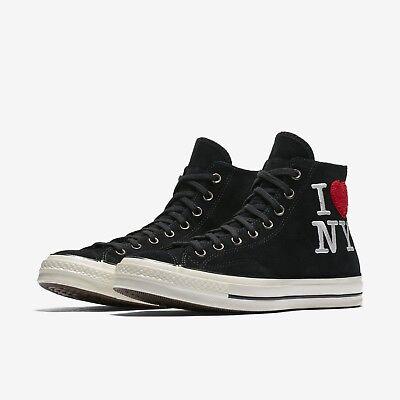 Converse Chuck Taylor 70 I Love New York High Top Black Shoe Sneakers US MEN 11 | eBay