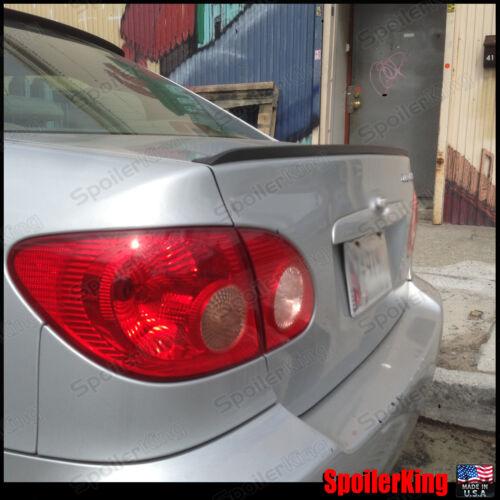 Rear Trunk Lip Spoiler Wing 244L SpoilerKing Fits: Toyota Corolla 2003-08 e120