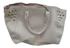Fashion Essentials Ladies Trapeze Studded Zip Handbag Shoulder Bag (RA151786)