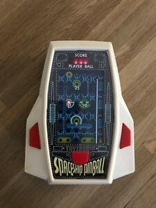 Très rare flipper vaisseau spatial Toytronic Vintage 1980 Led H / jeu tenu - N. Réparation 5378342621722