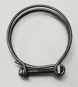 4-qty-Vintage-Veteran-wire-hose-clip-clamp-52-57mm