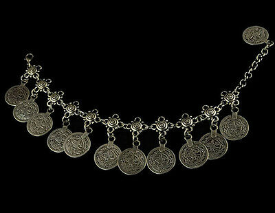 BOHO Ethnic Coin Tassel Gypsy Turkish Ethnic Anklet Bracelet Retro Jewelry Gift