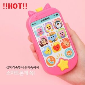 Details About Pinkfong Baby Shark Pop Up Toy Smart Phone With Kids Songs Picture Lyrics