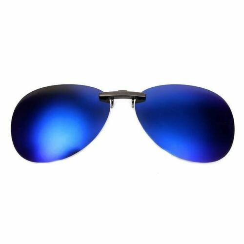 Polarized Clip On Sunglasses Driving Night Vision Anti UVA