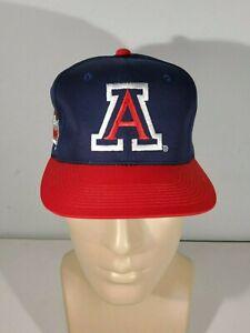 vintage-90-039-s-sports-specialties-snapback-hat-Arizona-Wildcats-University-Script