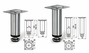Adjustable Plinth Leg For Kitchen Cabinet/Furniture/Sofa Chrome ...
