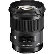 Sigma 50mm f/1.4 DG HSM Art Lens for Canon EF *Refurbished* *Authorized Dealer*