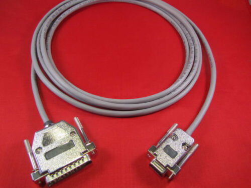 5 ft RS232 Cable DB9 Female to DB25 Male For Most CNC Machines.