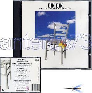 DIK-DIK-034-COME-FOSSERO-FARFALLE-034-RARO-CD-1991