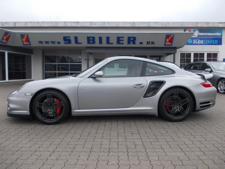 Porsche 911 Turbo 3,6 Coupé Tiptr. 2d - 449.000 kr.
