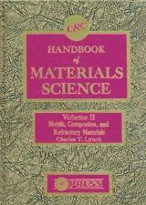 CRC Handbook of Materials Science, Volume II: Material Composites and -ExLibrary