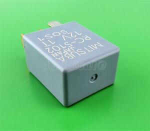 426-Acura-Subaru-5-Pin-Multi-Use-Silver-Relay-RC5102-RC-5102-12V-Mitsuba-Japan