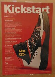 Sneaker Magazine Contents Page Adidas