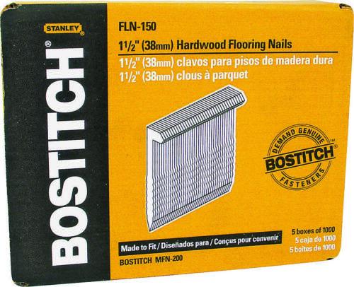 Bostitch FLN150 Flooring Cleat 1-1//2 in L 16 ga