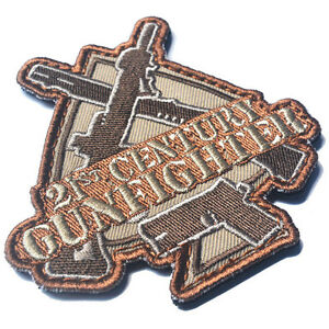 American gunfighter patch: we do bad things to bad people www.