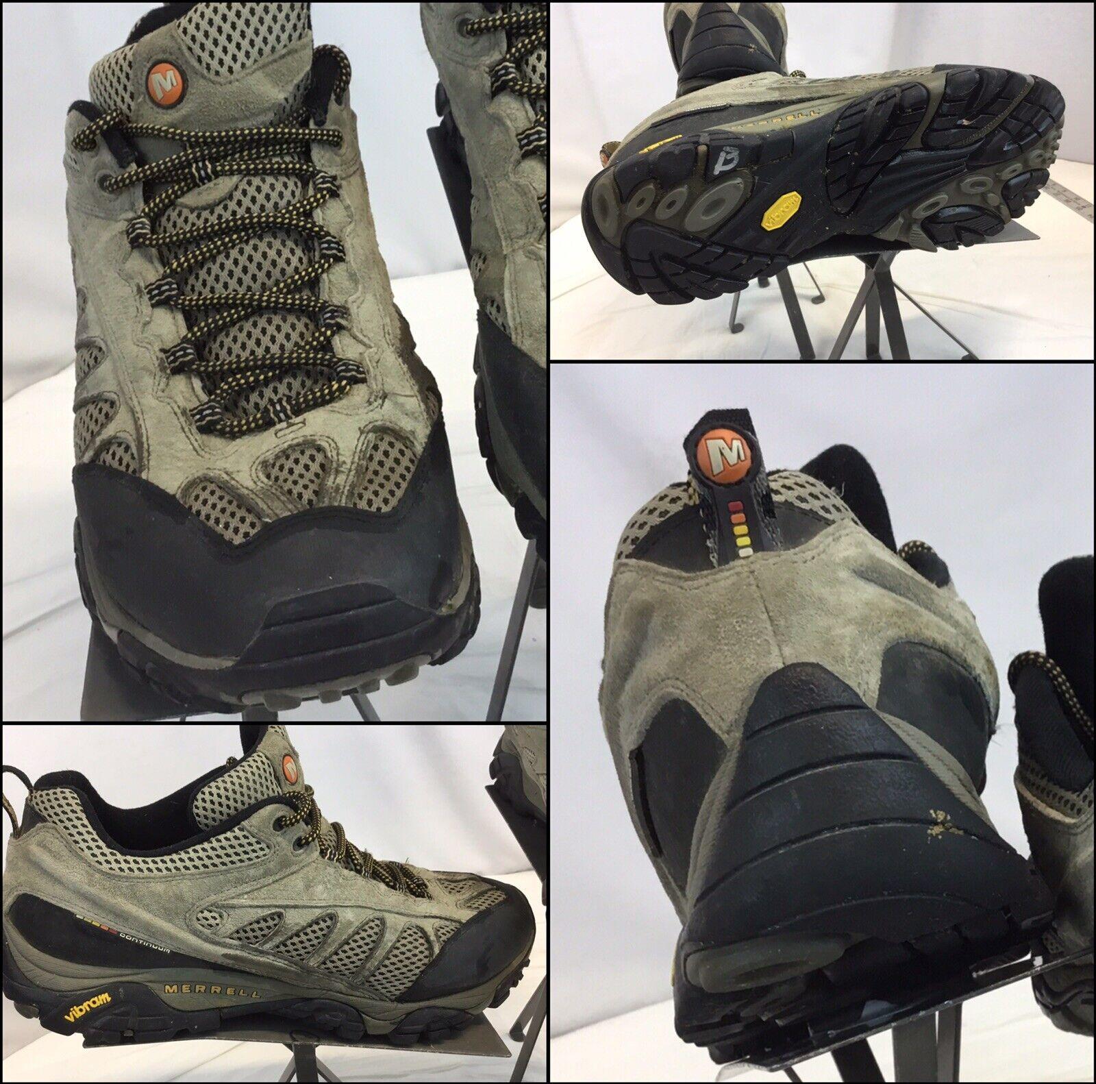 Merrell Walnut Hiking shoes  Sz 12 Beige Poly Vibram Soles EUC YGI D9S-13  wholesale