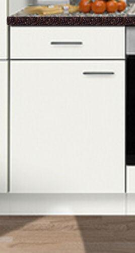 Unterschrank FAVORIT weiß ohne Arbeitsplatte 40 x 50 cm Küche Küchenschrank BxT