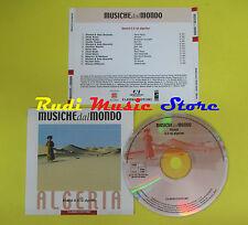 CD MUSICHE DAL MONDO ALGERIA compilation PROMO 2000 CHEB AISSA CHEB KADER (C4)