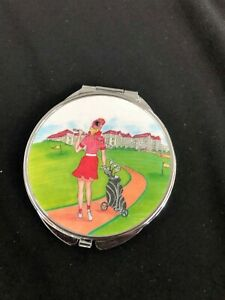 Personalized-Expression-Golf-Compact-Mirror