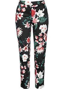 stampati neri gr stampati multicolore stretch nuovi Pantaloni donna Pantaloni Pantaloni 36 stretch T4qABnx