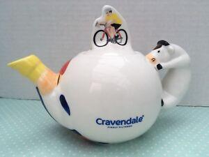 Cravendale-Milk-Teapot-Collectable-Kitchenalia-Exc-Condition-Tea-Lover-Gift