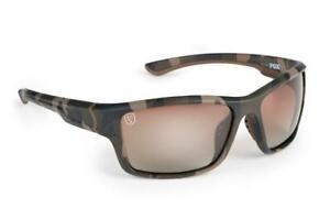 Fox Avius Wraps - Camo Frame - Brown Gradient Lens / Polarised Sunglasses