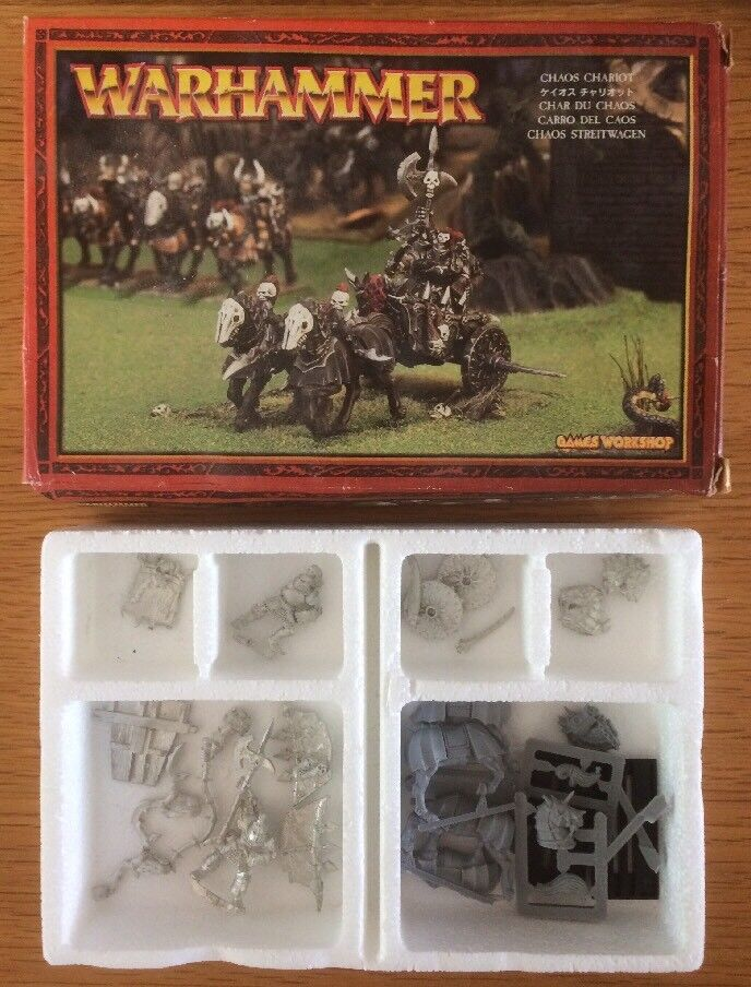 Warhammer Chaos Chariot Metal Miniature OOP Ref CB116 Boxed