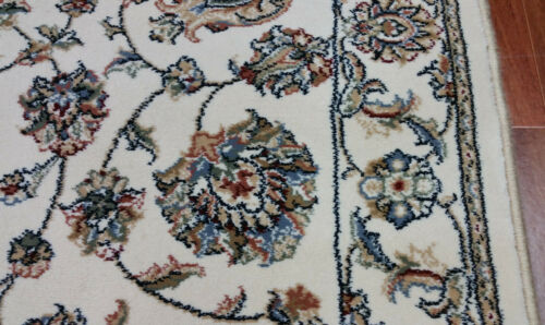 """Rug Depot Traditional Oriental Hall and Stair Runner 26/"""" Wide Ivory Rug Runner"""