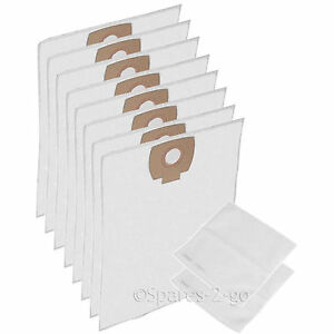 8-x-Cloth-Filter-Bags-for-NILFISK-ALTO-AERO-Vacuum-Cleaner-Hoover