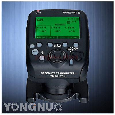Yongnuo YN-E3-RT II Flash Trigger + Speedlite Transmitter for Canon 600EX-RT