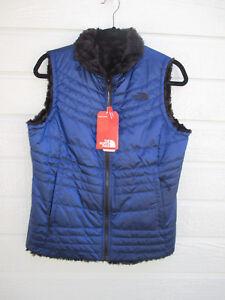 d4effc6d1039 NWT North Face Womens Mossbud Swirl Slim Fit Vest A33PM Brit Blue SZ ...