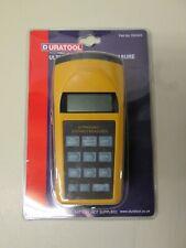 Duratool D00243 Ultrasonic Distance Measurer New