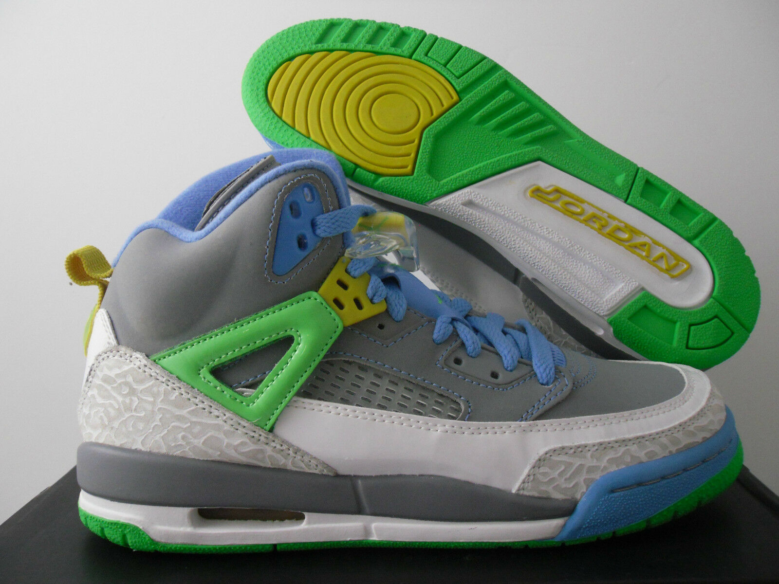 Nike air jordan spizike (gs) pasqua grey-green sz 6y-Donna sz - 317321-056]