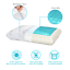 Gel-Memory-Foam-Pillow-Cool-with-Zipped-Washable-Breathable-Bamboo-Duck-amp-Goose thumbnail 4