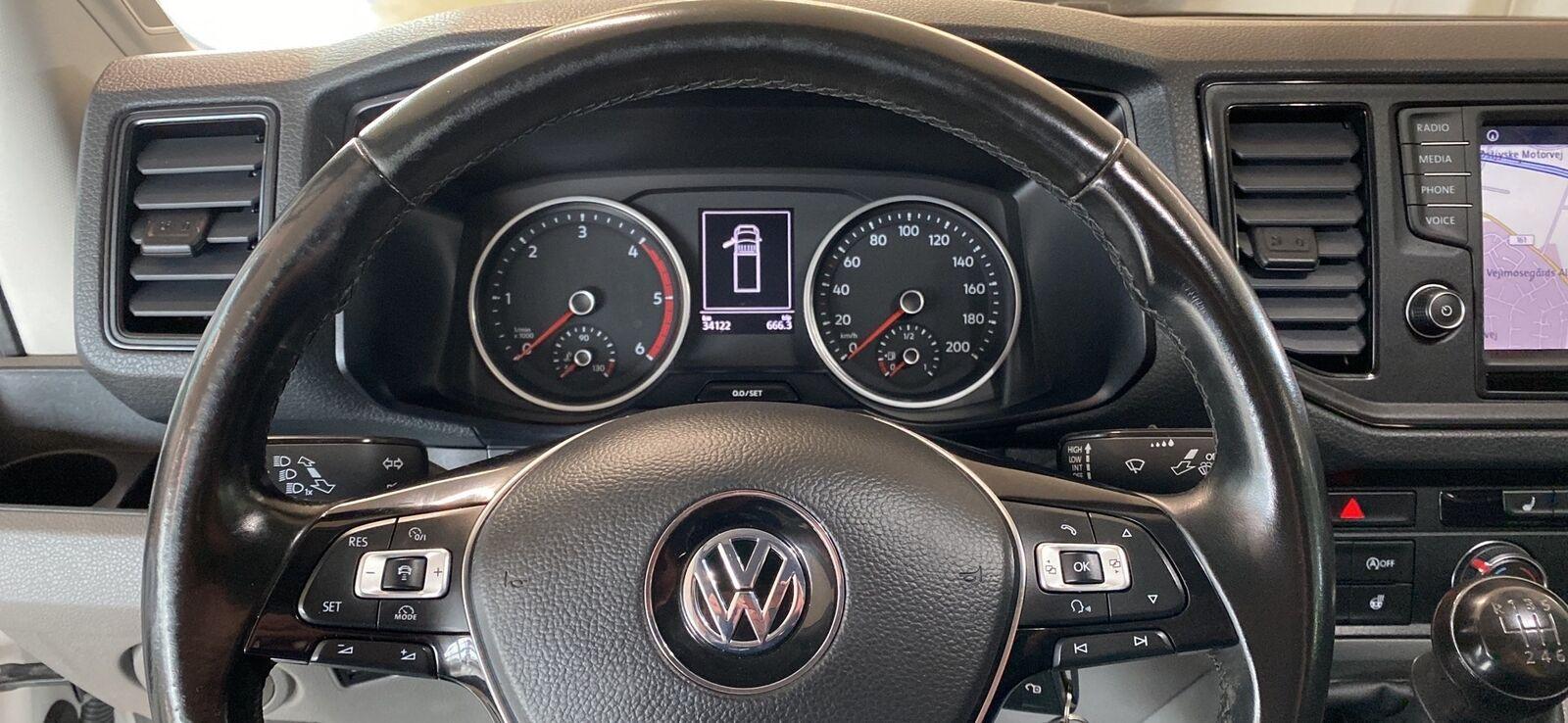 Billede af VW Crafter 35 2,0 TDi 177 Ladvogn L3
