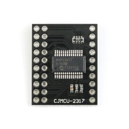MCP23017 interfaz serial I2C SPI MCP23S17 bidireccional 16-Bit I//O Pines 10Mhz