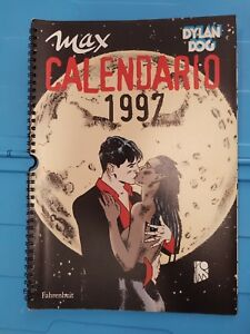 Calendario Max 1997.Dettagli Su Calendario Max 1997 Dylan Dog