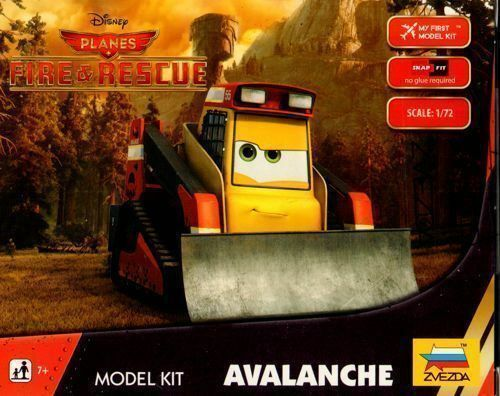 ZVEZDA Avalanche Snap Kit-Disney Planes Fire /& Rescue # 2079