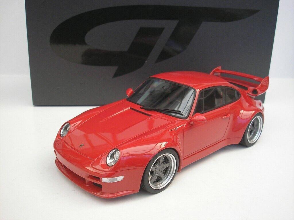 Porsche 911 Gunther Planta 400 R 2018 Rojo 1 18 Gt Spirit Gt210 Nuevo