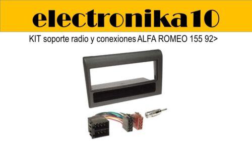 Lancia Dedra Soporte Marco Montaje  Radio alfa romeo 155 kit completo cableado